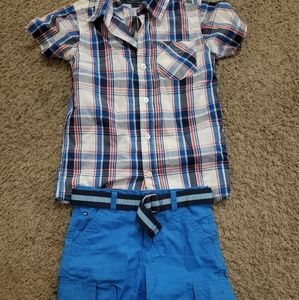 Boy shorts outfit size 5